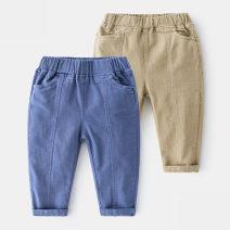 trousers Shell element male 90cm,100cm,110cm,120cm,130cm,140cm Khaki, blue spring and autumn trousers No model Casual pants Leather belt Other 100% kzd227 Class B 2, 3, 4, 5, 6, 7, 8, 9, 10, 11, 13, 12, 14