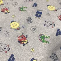 Fabric / fabric / handmade DIY fabric cotton 3.80 = 0.1M 38.00 = 1m Loose shear rice Cartoon animation printing and dyeing clothing 91% (inclusive) - 100% (exclusive)