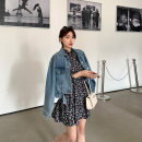 Women's large Spring 2021 Dress Large, 3XL, 4XL, large Other oversize styles Two piece set commute Self cultivation moderate Cardigan Long sleeves Korean version Crew neck routine Three dimensional cutting routine W5969+L5981 Mr. Zhang 25-29 years old Button Medium length