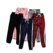 Casual pants Black, Burgundy, grey, navy S,L,M Spring of 2019 trousers High waist commute 25-29 years old 71% (inclusive) - 80% (inclusive) other belt