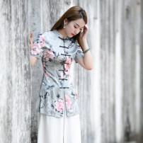 jacket Summer 2020 S M L XL XXL R056 Ruyifeng Polyester 98% polyurethane elastic fiber (spandex) 2% Pure e-commerce (online only)