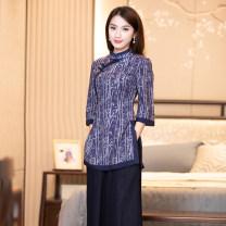 jacket Summer 2020 S M L XL XXL R019 R18FR019 Ruyifeng Polyester 98% polyurethane elastic fiber (spandex) 2% Pure e-commerce (online only)