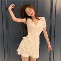 Dress Summer of 2019 white Average size
