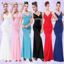 Dress / evening wear Weddings, adulthood parties, company annual meetings, daily appointments S M L XL sexy longuette middle-waisted Fall 2017 Fall to the ground Sling type Deep V style 26-35 years old Sleeveless Diamond ornament Decor Bright and popular other other 81% (inclusive) - 90% (inclusive)