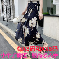 skirt Summer 2021 Xs, one size fits 145-155 Black magnolia, red Magnolia longuette Versatile Natural waist skirt other 18-24 years old More than 95% other Zhenyaluo other