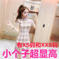 Dress Summer 2020 Pink, green Xs, s, m, l, XXS genuine small 145-155 Short skirt singleton  Short sleeve commute other other other other other 18-24 years old Zhenyaluo More than 95% other other