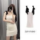 Dress Summer 2020 White dress, top, cyan dress, purple dress XS,S,M,L Short skirt singleton  Sleeveless