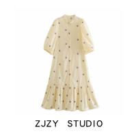 Dress Spring 2021 Light yellow XS,S,M,L