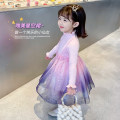 Dress Pink (thin) blue (thin) female Mikir / mikir 90cm 100cm 110cm 120cm 130cm Cotton 95% other 5% spring and autumn Korean version Long sleeves stars cotton A-line skirt MXMYC118 Class A Spring 2021 12 months, 18 months, 2 years old, 3 years old, 4 years old, 5 years old, 6 years old
