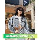 Fashion suit Spring 2021 S,M,L Denim jacket + skirt suit, single denim jacket, single denim skirt 18-25 years old Q6578 51% (inclusive) - 70% (inclusive) cotton
