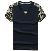 T-shirt Youth fashion S 9327 black short sleeve s 9327 white short sleeve s 9327 grey short sleeve s 9327 Blue Short Sleeve s 9327 army green short sleeve thin M L XL 2XL 3XL Jeep shield Short sleeve Crew neck easy daily summer Cotton 95% polyurethane elastic fiber (spandex) 5% youth routine Assembly