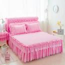 Bed skirt 150cmx200cm 180cmx200cm 180cmx220cm 200cmx220cm cotton Pink rose red Beige jade purple And a hundred years Solid color ij-yjjf-sjt4561