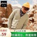 T-shirt / sweater Wei Chen Youth fashion 4XL 5XL 6XL 7XL 3XL Thin money Cardigan V-neck Long sleeves spring and autumn easy 2019 Viscose fiber (viscose fiber) 52% polyester fiber 28.9% polyamide fiber (nylon) 19.1% leisure time Basic public Large size routine Solid color Winter of 2019 man-made fiber