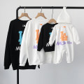 Parent child fashion White, black A family of three Female, male, neutral Other / other spring and autumn Korean version routine other Sweater / sweater cotton L,M,S,XL,XS,XXL,XXXL S,M,L,XL,XXL Chinese Mainland