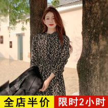 Dress Spring 2021 Picture color JH S M L XL 2XL 3XL 4XL Mid length dress singleton  Long sleeves commute other Decor other routine Others 18-24 years old Eileen Korean version 2-7C5380-XX More than 95% polyester fiber Polyester 100% Pure e-commerce (online only)
