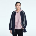 short coat Spring 2021 38 36 40 42 Qh20 color matching dark blue Long sleeves routine routine singleton  Straight cylinder commute Crew neck zipper Solid color 30-34 years old OTT 51% (inclusive) - 70% (inclusive) zipper OD1100612 polyester fiber nylon Pure e-commerce (online only)