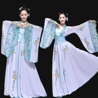 National costume / stage costume Summer of 2018 white Small [recommended weight 90-120 kg], large [recommended weight 120-150 kg] Dance like love