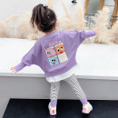 suit McDonnell Pink Purple 80cm 90cm 100cm 110cm 120cm 130cm female spring and autumn Korean version Long sleeve + pants 2 pieces routine There are models in the real shooting Socket nothing MDD-471256691 Class A Other 100% Spring 2021 Chinese Mainland Guangdong Province Jiangmen City