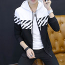 Sweater Youth fashion Viettolons Wy09 white wy09 black wy08 white wy08 black wy903 red wy903 black wy903 white XXL S M L XL other Cardigan routine Hood autumn Slim fit leisure time teenagers tide routine WY09-1#2 Polyester 100% washing Autumn of 2018 Pure e-commerce (online only) zipper