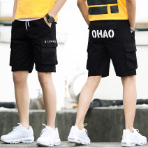 Casual pants Viettolons Youth fashion K501 black k502 black k503 black k505 black k505 gray XXL S M L XL routine Shorts (up to knee) Other leisure Self cultivation No bullet K505#1 summer teenagers tide 2019 Medium low back Little feet Cotton 95% other 5% Overalls washing Alphanumeric Summer of 2019