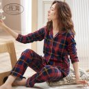 Pajamas / housewear set female Transmit beauty M L XL XXL XXXL M8507 M8527 M8504 M2094 M8503 M8501 M8505 M8506 M8502 M8510 M8511 M8512 M8514 M8517 M8521 M8513 M8515 M8516 M8518 M8519 M8523 M8524 M8525 M8522 1 2 3 4 cotton Long sleeves luxurious Leisure home autumn routine Small lapel trousers youth
