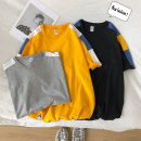 T-shirt Youth fashion White black yellow grey routine M L XL 2XL 3XL fizze Short sleeve Crew neck easy Other leisure summer T.309 Polyester 95% polyurethane elastic fiber (spandex) 5% youth tide Summer 2020 No iron treatment Fashion brand Pure e-commerce (online only)