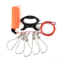 Other fishing supplies FF&HH Fifty China Under 50 yuan Five buckles and ten buckles go fishing Summer of 2018 Fish lock