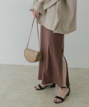 skirt Autumn 2020 Average size Brown, yellow, blue grey Aisle shelf-4 z20-406