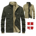 Jacket Jane don fashion Youth fashion Army green Khaki blue 170/M 175/L 180/XL 185/XXL 190/3XL routine easy Home spring qz862 Cotton 100% Long sleeves Wear out stand collar Business Casual youth routine Zipper placket Straight hem washing Loose cuff Solid color Spring 2021 More than two bags) cotton