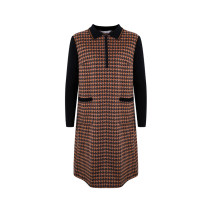 Dress Winter 2020 Wonderful kaleidoscope (coffee) 155/80A 160/84A 165/88A 170/92A Middle-skirt 25-29 years old Feizi 0W453 51% (inclusive) - 70% (inclusive) cotton Cotton 66.2% wool 33.8% Same model in shopping mall (sold online and offline)