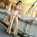 Casual pants Pre sale as shown XS S M L XL Summer of 2019 trousers Jumpsuit Natural waist VJE Cotton 64.6% polyester 31.8% polyurethane elastic fiber (spandex) 3.6%