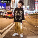 Children's performance clothes Top Pants Top + Pants Top + pants + Hair Band male 110cm 120cm 130cm 140cm 150cm 160cm 170cm 180cm Mlxjl / Magic Elf Class B X19N24 Other 100% Summer of 2019 Hip hop