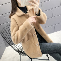 Wool knitwear Autumn of 2019 S M L XL Long sleeves singleton  Cardigan other More than 95% Regular routine commute easy other routine other Single breasted Korean version 25-29 years old Shebetsy Pocket button Other 100% Pure e-commerce (online only)