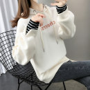 Sweater / sweater Spring 2020 Yellow dark blue off white rose blue green S M L XL Long sleeves routine Socket singleton  routine Hood easy commute 96% and above Shebetsy Korean version other X3055 thread Cotton liner Other 100% Pure e-commerce (online only)
