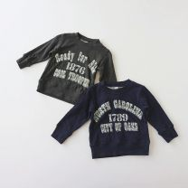 Sweater / sweater Other / other Dark green, dark blue neutral 80cm,90cm,95cm,100cm,110cm,120cm,130cm,140cm spring and autumn Cotton 100% T208