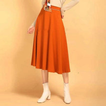 skirt Spring 2020 1/XS 2/S 3/M 4/L 5/XL Orange green longuette commute High waist A-line skirt Solid color Type A 25-29 years old 5200158-2062837-001 71% (inclusive) - 80% (inclusive) other Zhenya Cellulose acetate zipper Acetate (acetate) 79.3% polyester 20.7% Pure e-commerce (online only)