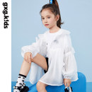 Plain coat gxg kids female 110/56 120/60 130/64 140/64 150/68 Ben White Ben White a Ben White B summer leisure time Zipper shirt There are models in the real shooting routine nothing other Hood KC221001C Lyocell 64.3% polyamide 35.7% Class C Summer 2021