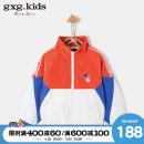 Plain coat gxg kids male 110cm 120cm 130cm 140cm 150cm orange spring and autumn Zipper shirt No model routine other Polyester 100% Class C Spring 2020
