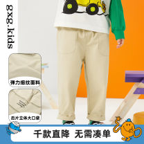 trousers gxg kids male 90/47 100/47 110/53 120/56 Khaki a khaki B spring and autumn trousers leisure time There are models in the real shooting Casual pants other Don't open the crotch Cotton 97% polyurethane elastic fiber (spandex) 3% 12C102002A other 12C102002A Spring 2021