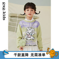 Sweater / sweater 110/56 120/60 130/64 140/64 150/68 160/76A other female Purple a purple B gxg kids leisure time There are models in the real shooting Socket routine Crew neck nothing Cartoon animation Viscose (viscose) 85% polyester 15% 12C220009A other Long sleeves spring and autumn