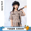 suit gxg kids Shirt a shirt B skirt a skirt B shorts a shorts B 110cm 120cm 130cm 140cm 150cm female spring and autumn leisure time other 2 pieces routine There are models in the real shooting Single breasted nothing other 12C236004B other Other 100% Spring 2021