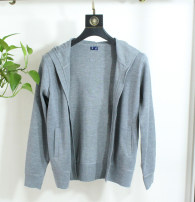 T-shirt / sweater Pdbpedebo / patenberg Fashion City grey M,L,XL,2XL routine Cardigan Cap Long sleeves spring and autumn Slim fit 2020 Basic public routine
