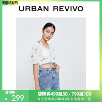 Wool knitwear Summer 2021 S XL L M ivory Short sleeve acrylic fibres More than 95% have cash less than that is registered in the accounts YL11S9DN2000 25-29 years old UR Polyacrylonitrile fiber (acrylic fiber) 100% Same model in shopping mall (sold online and offline)