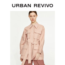 short coat Spring 2020 S XL XS L M XXL Trim color Long sleeves 25-29 years old UR 96% and above 1WI02S1EN2000 cotton Cotton 97% polyurethane elastic fiber (spandex) 3% Same model in shopping mall (sold online and offline)