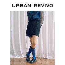 skirt Summer 2020 S L M It's black Short skirt Natural waist 25-29 years old WG22S5AE2005 51% (inclusive) - 70% (inclusive) other UR Viscose Viscose (viscose) 54% Lyocell (Lyocell) 39% flax 7% Same model in shopping mall (sold online and offline)