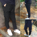 trousers Ant train male 110cm 115cm 120cm 125cm 130cm 135cm 140cm 145cm 150cm 155cm 160cm spring and autumn trousers leisure time There are models in the real shooting Casual pants Tether middle-waisted nylon Don't open the crotch Polyamide fiber (nylon) 100% Class B Autumn of 2018