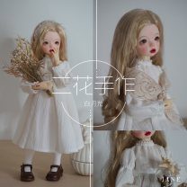 BJD doll zone suit 1/6 Over 3 years old goods in stock Pearl Beige Cape, autumn leaf Cape The whole set is five o'clock, only the clothes don't include dolls