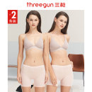 underpants female L XL XXL Threegun / three guns 2 other boxer middle-waisted Simplicity Solid color youth 81% (inclusive) - 95% (inclusive) Recycled fiber fabric Safety trousers Summer 2020 Regenerated cellulose fiber 95% polyurethane elastic fiber (spandex) 5%