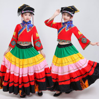 Children's performance clothes Red 360 degree headdress, red 540 degree headdress, red 720 degree headdress, black 360 degree headdress, black 540 degree headdress, black 720 degree headdress, single headdress, red men's wear female Other / other Class A nation other