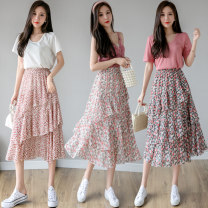 skirt Summer 2021 Average size A little red deep rose Light Rose Mid length dress commute High waist Cake skirt Decor Type A 25-29 years old LK211-3829 More than 95% LK2003 other Asymmetry Korean version Other 100% Pure e-commerce (online only)